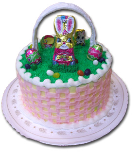 Mcentyres bakery easter basket cake atlanta negle Gallery